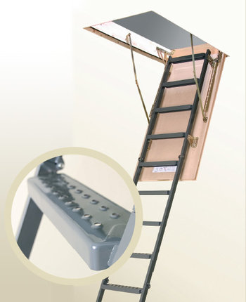FAKRO Attic Ladder Performance   Metal 2.7m   Attic Ladders   Product Lines    Oz Ladders Australia